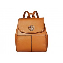 Medallion Backpack - Cognac