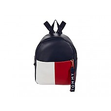 Isa Backpack - Smooth - Navy/Red/White