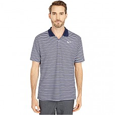 Dry Victory Polo Stripe - College Navy/White