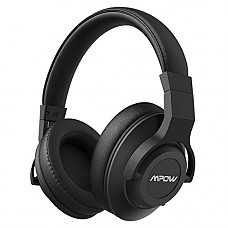 Mpow H12 Active Noise Cancelling Bluetooth Headphones, ANC Over Ear Headphones w/Mic, Comfortable Foldable Stereo Headphones Wireless PC/Cell Phones/TV(Audio Cable 없는점 구매에 참고 부탁드립니다)
