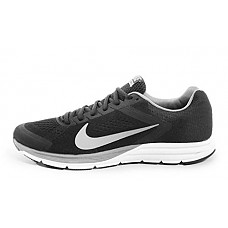 Nike Mens Zoom Structure 17, BLACK/REFLECT SILVER/COOL GREY-SUMMIT WHITE, 8 M US