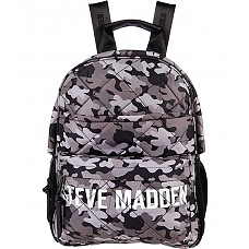 Bforce Quilted Backpack - Black Camo