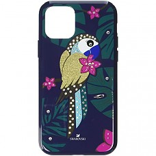 Tropical Parrot Smartphone Case with Bumper, iPhone® 11 Pro - Multicolor